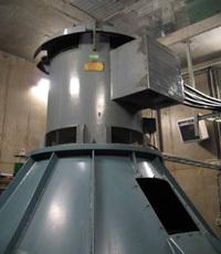 Generatorn i Krokfjordens kraftstation