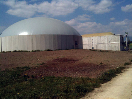 Biogasanläggning