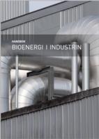 Bild på framsidan av broschyren Bioenergi i industrin
