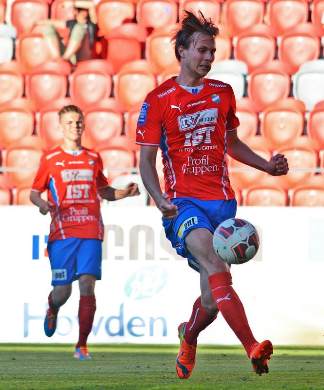 Jonas Hellgren gjorde 3 mål mot Varberg.