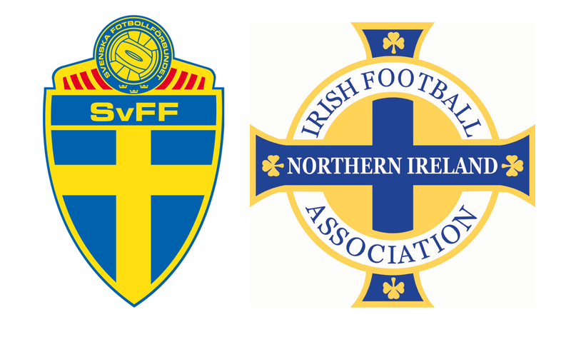 Sverige vs Nordirland 8 maj