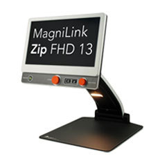 Picture of our new and flexible MagniLink Zip New Generation video magnifier.